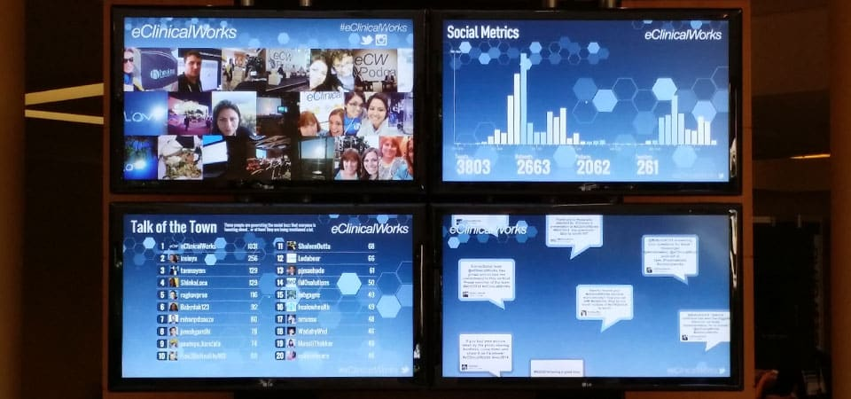 SocialPoint Social Media Wall Hub