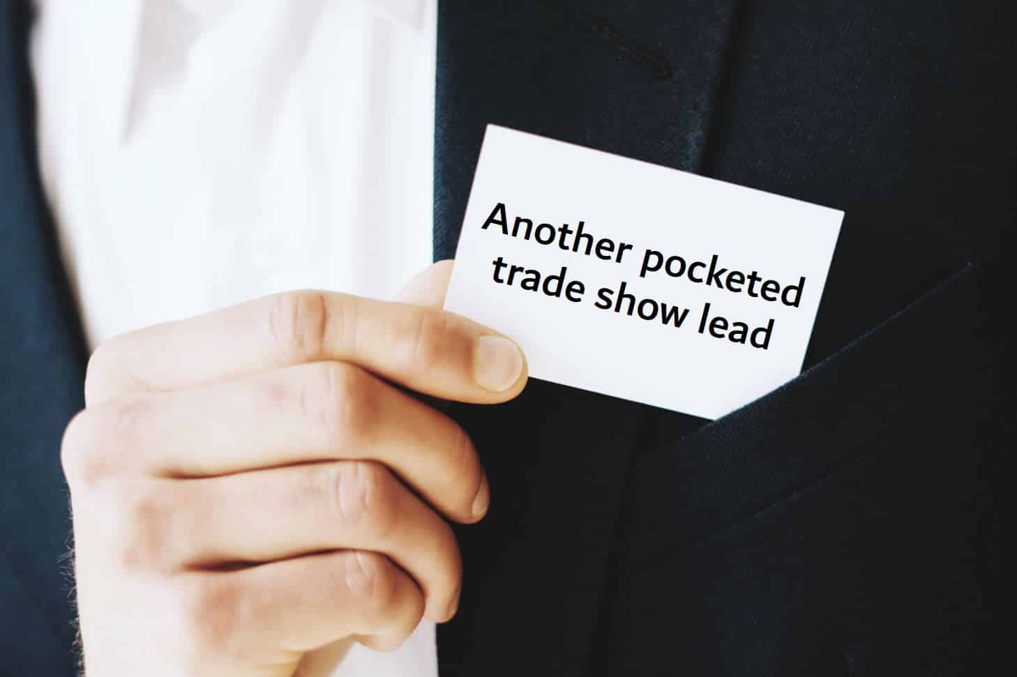 improved lead capture for small trade shows combines game with lead retrieval app