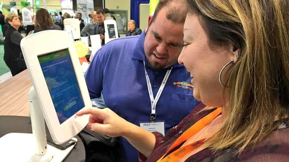 interactive digital trade show games for your booth