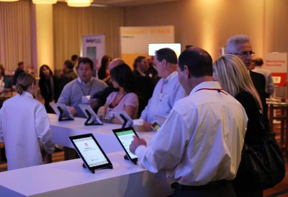 iPad trade show games