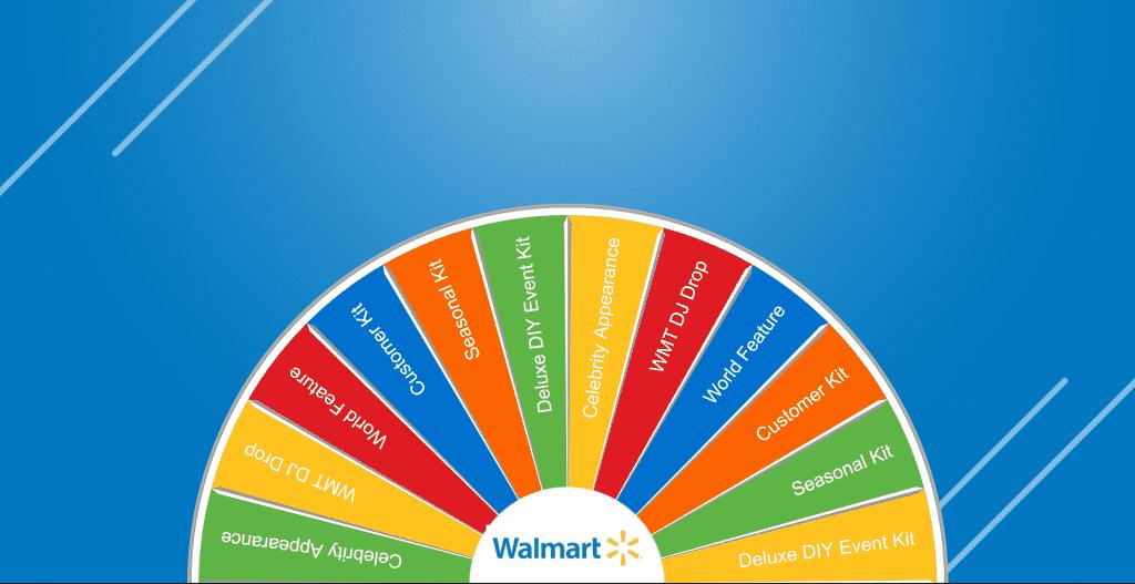 Walmart - International Support Meeting Virtual Prize Wheel
