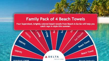 virtual-prize-wheel Delta with towel prize