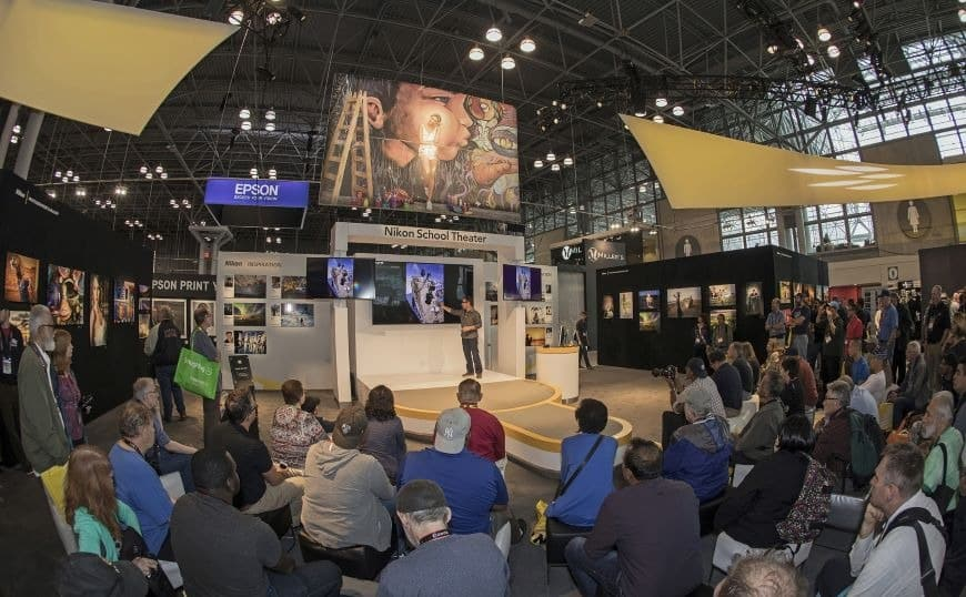 subject matter expert presentation activity in your trade show display