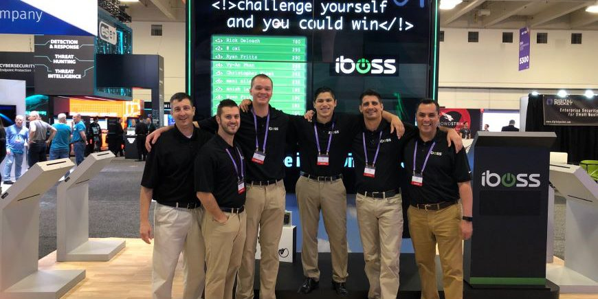training booth staffers for your trade show trivia game