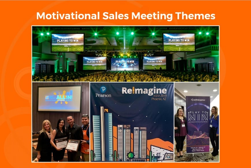 motivational national sales meeting themes
