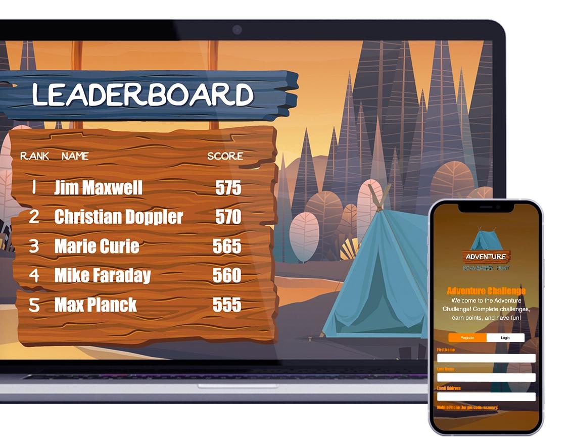SocialPoint Trivia Leadboard and Web based player app